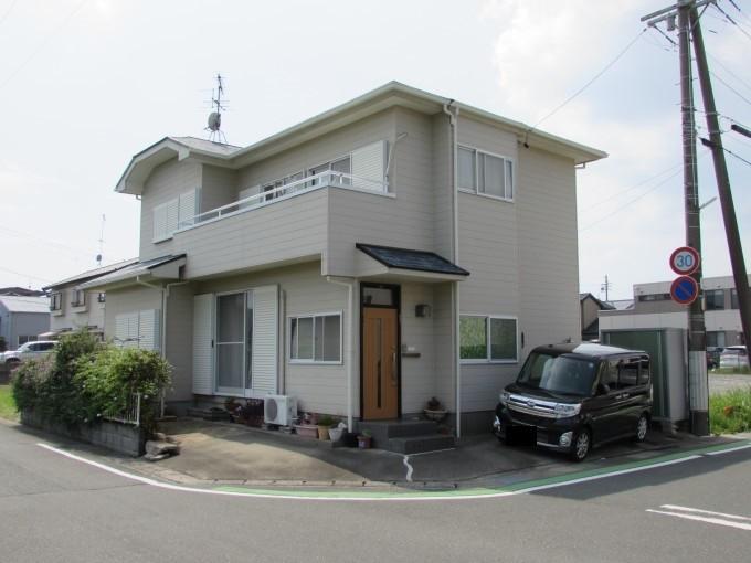 浜松市東区 外壁サイディング塗装 屋根カラーベスト塗装