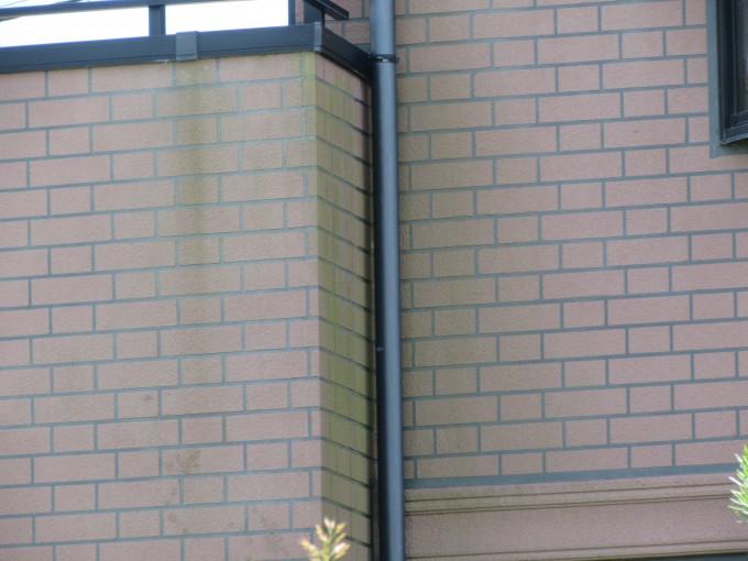 外壁北側劣化状態写真