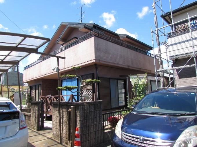 浜松市南区外壁金属サイディング張替え工事が完了しました。