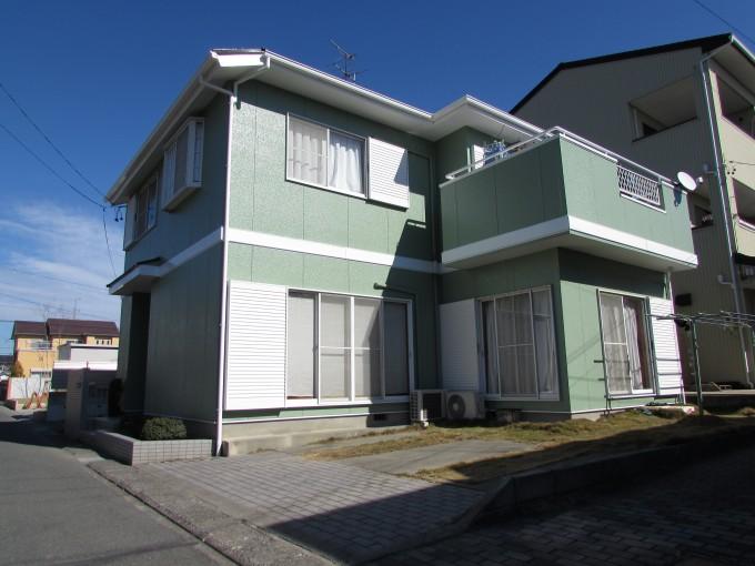 浜松市中区2棟紹介外壁塗装・屋根塗装工事が完了しました。