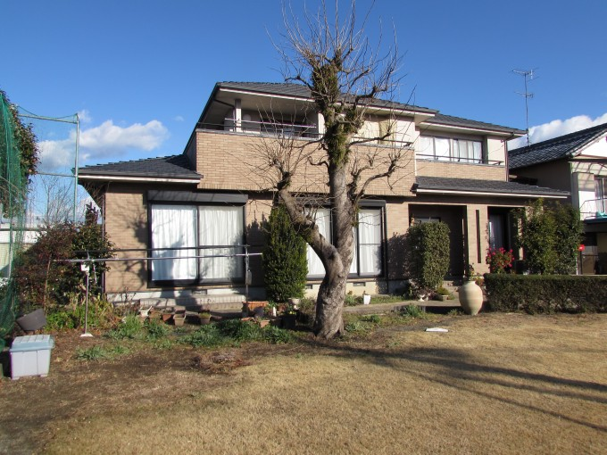 掛川市無機艶消し塗装・外壁タイル保護塗装・板金工事が始まりました。