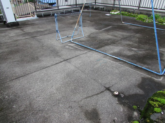 浜松市天竜区屋上防水塗装
