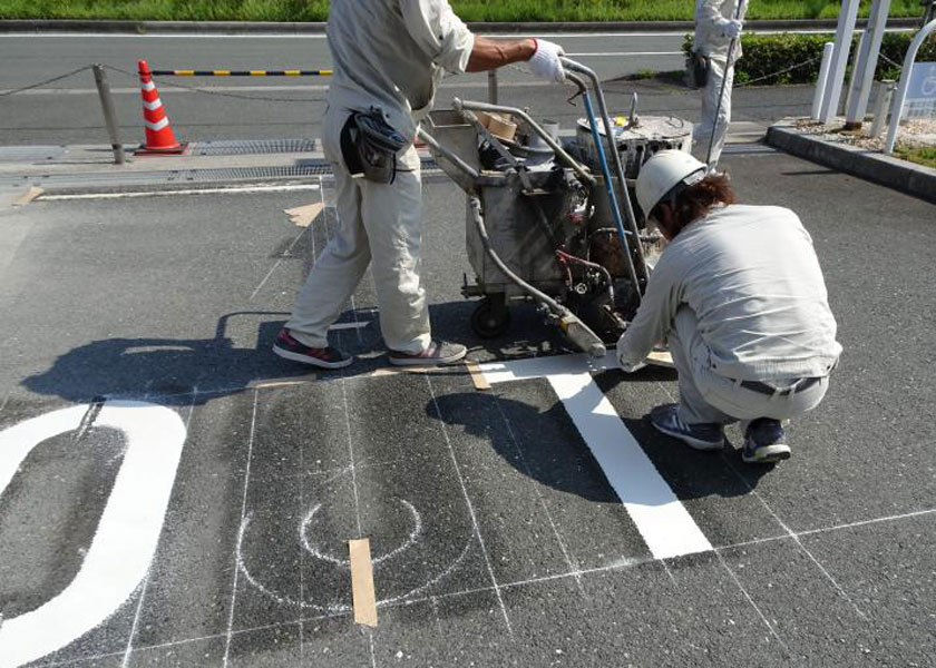 ネッツトヨタ浜松様施工後写真