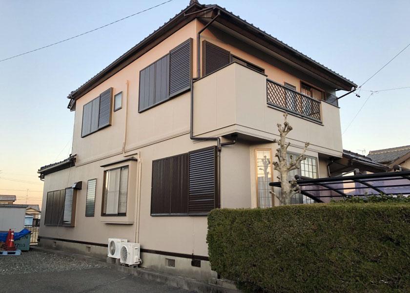 浜松市中区事務所および住居2棟同時施工写真