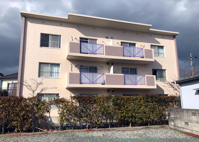 浜松市中区3階建賃貸マンション様写真